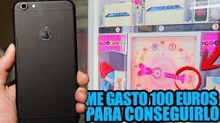 CONSIGO UN IPHONE GASTANDOME 100$ EN UNA NUEVA MÁQUINA RECREATIVA!!?? KeyMaster con Rocofra