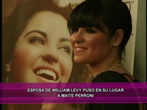 Pareja de William Levy puso en su lugar a Maite Perroni