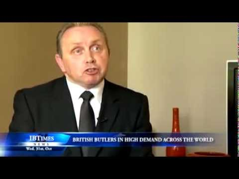 Demand for British butlers on the rise across the world