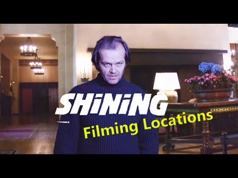 THE SHINING ( filming video location ) Kubrick Jack Nicholson