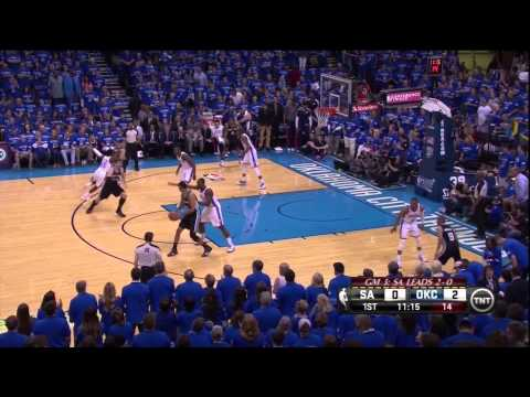 Serge Ibaka Saves The Day: Spurs At Thunder Game 3 Western Conference Finals