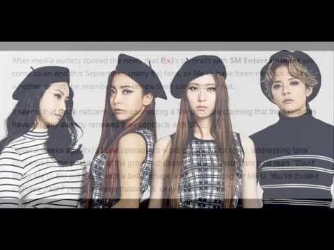 160725 Netizens suspect fx have already renewed their contracts with SM Entertainment