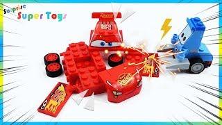 Lightning McQueen toys for kids.   surprise toys , Disney car