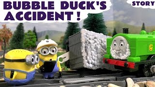Thomas and Friends Accident with Minions | Family Fun toy story with Duck & Gordon Toy Trains TT4U