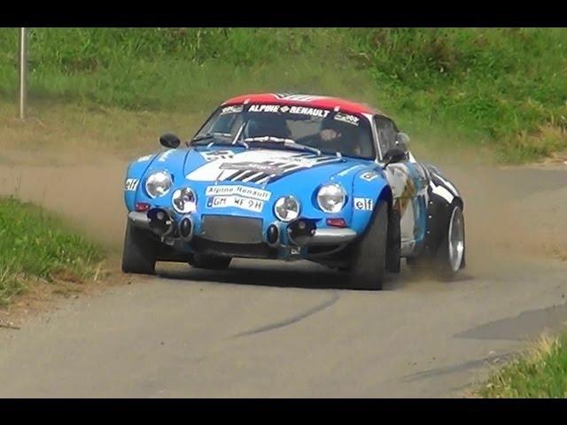 CLASSIC CARS ADAC Rallye Deutschland 2013 by stefvideo74 [HD]