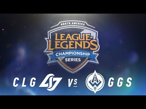 CLG vs. GGS - Week 6 Day 2 | NA LCS Spring Split | Counter Logic Gaming vs. Golden Guardians (2018)