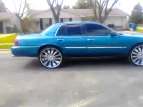 Grand marquis on 26 burn out