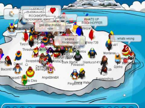 My second meeting with Rockhopper at January 2008.