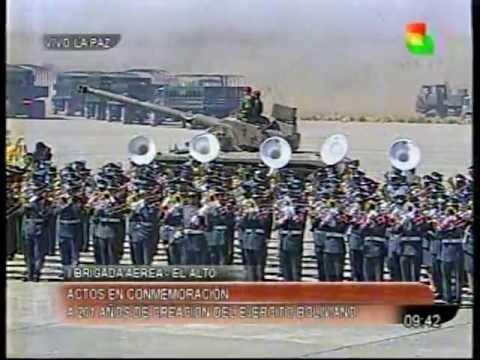 Parada Militar Ejercito de Bolivia parte 1