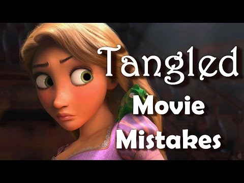 Tangled Movie Mistakes