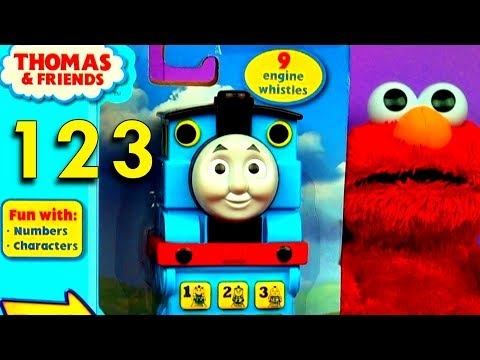 Thomas Tank Toy Train Phone Learn To Count Numbers Thomas & Friends Engines Fisher Price FluffyJet