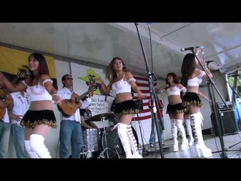 Luna de Miel - Mosaico Cumbias Amor de mis Amores Festival Ecuatoriano en Stamford CT