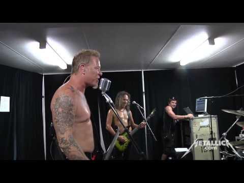 Metallica - Sound Check (Soundwave 2013 Brisbane)