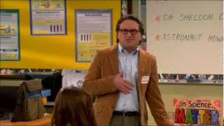 Sheldon, Leonard And Howard Go To School + Some Rapping