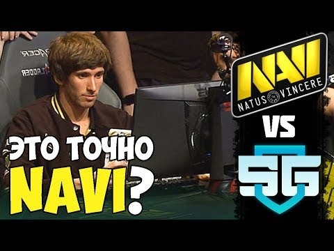 NaVI В МАТЧЕ НА ВЫЛЕТ С МИНОРА | NaVI vs SG Starladder Minor