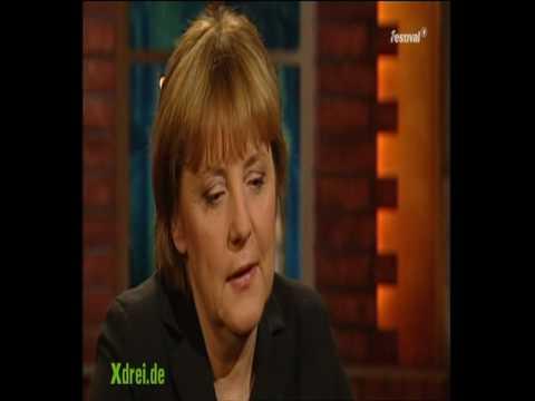 Merkel völlig losgelöst