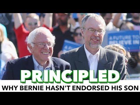 Bernie's Principled Reason For Not Endorsing His Son For Congress