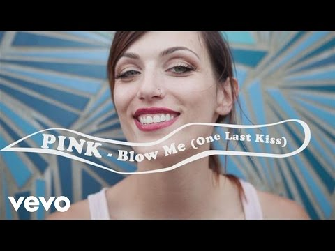 P!nk - Blow Me (one Last Kiss)[official Lyric Video] video