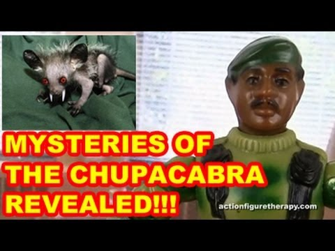 How To Find A Chupacabra - Action Figure Therapy