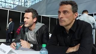 Jason O'Mara (Wyatt Price) & Rufus Sewell (John Smith) discuss Man in the High Castle @ NYCC '17