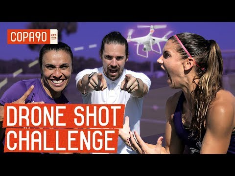 Drone Shot Challenge: Alex Morgan vs. Marta - Ep. 2