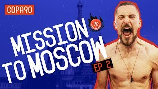 Serbs Go Wild | Mission to Moscow with pumafootball