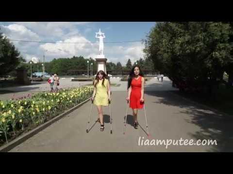 """Sunny Day"" (Lia & Tasha) - ""Солнечный день"" | liaamputee"