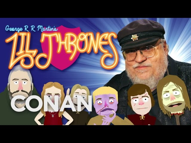 "George R.R. Martin Presents ""Lil Thrones""  - CONAN on TBS"