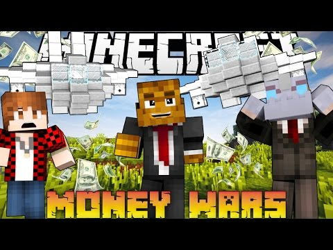 "Minecraft MONEY WARS ""SNEAKY SPY ATTACK"" #2 w/ BajanCanadian & Nooch"