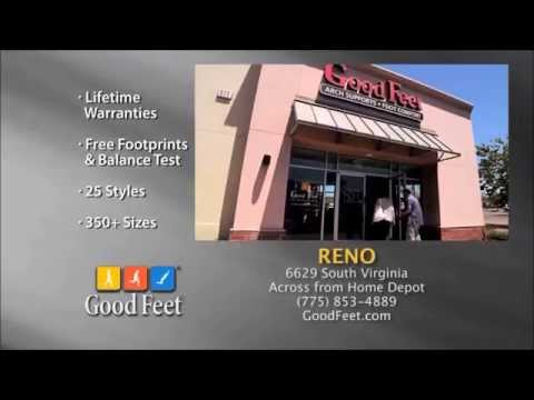 Reno Foot Pain relief at Good Feet