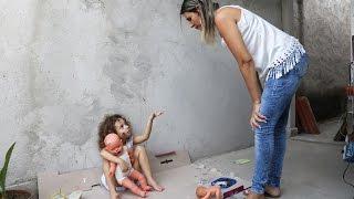 A Menina Abandonada e a irmã Catarina 01