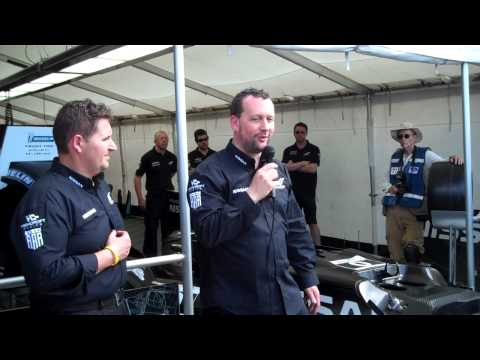 Nissan DeltaWing explained at Sebring March 17, 2012