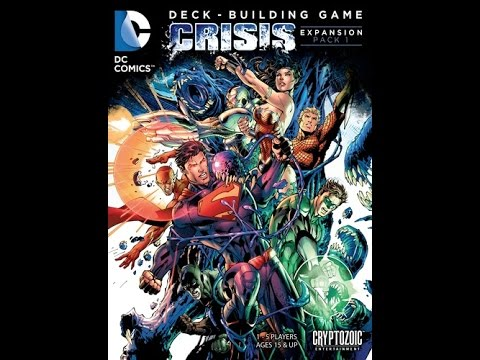 DC Comics Deck-Building Game: Crisis Expansion (Pack 1) - Board Game Brawl