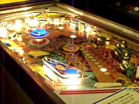 Gottlieb Pinball Close Encounters of The Third Kind Plasma , Music and soon Sound Mod