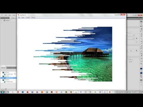 Animación Flash: Importar 3d y transición de imágenes | Diseño y Animación Multimedia
