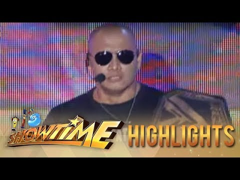 IT'S SHOWTIME Kalokalike Level Up : The Rock