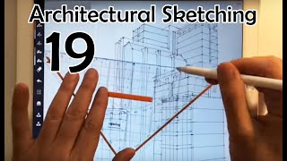 Architectural Sketch challenge Day 019