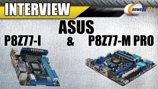 Newegg TV_ ASUS SFF Z77 Motherboards Detailed - P8Z77-I Mini-ITX & P8Z77-M Pro Micro-ATX