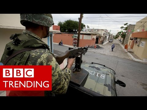 Murdered for tweeting Mexico's drug war - #BBCtrending