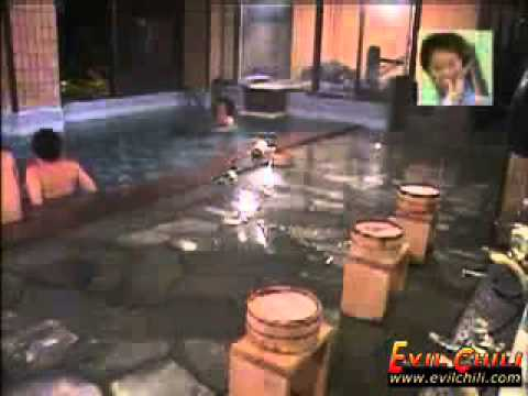 Japanese Swimming Pool Fart Prank