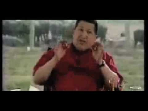 Thumb President Hugo Chavez sings about twitter