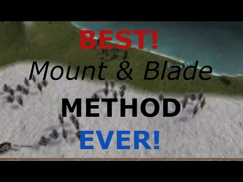 1000 Denar in 1 Minute - Mount and Blade Warband New Player Guide PS4