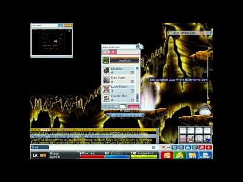 MapleStory Thief(Assassin) Guide Levels 20-30