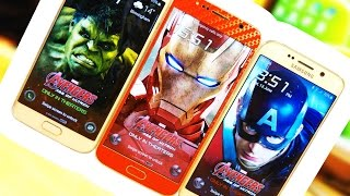 Make your S6 Edge a Iron Man Edition easily