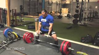 Dan Green -- 881 Deadlift (400 kg)
