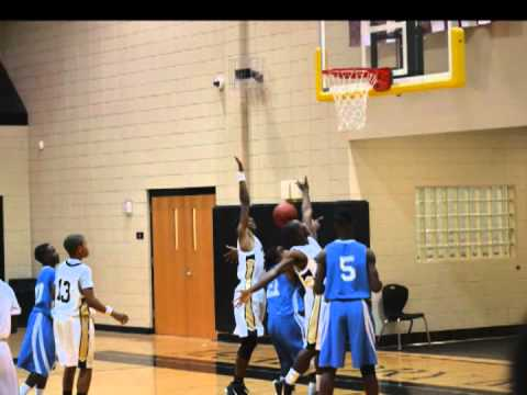 Jordan B. Jones McAdory Middle School Basketball 8th Grade