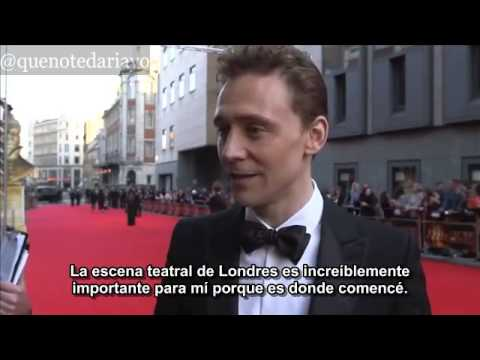 Entrevista a Tom Hiddleston en los Olivier Awards 2014 | Subtitulado