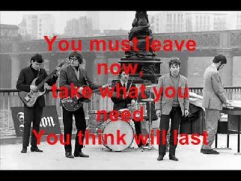 Them - It's All Over Now, Baby Blue (Lyrics)
