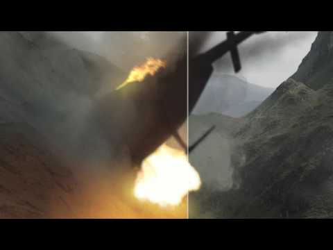 VFX Project - Helicopter Crash