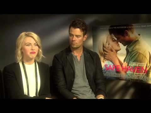 Interview with Julanne Hough and Josh Duhamel